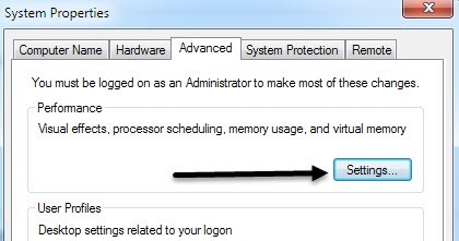 Optimize The Paging File In Windows 7 8 8 1