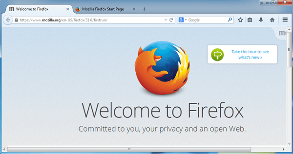 how to make a shortcut in firefox