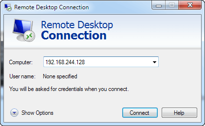 win7 remote desktop