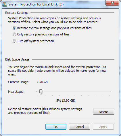 how to increase the space on c drive