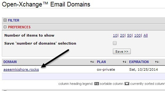 Domian Email