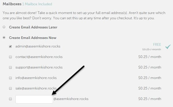 How To Create Your Own Personalized Domain Email Address - Make own email
