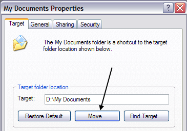 move my documents