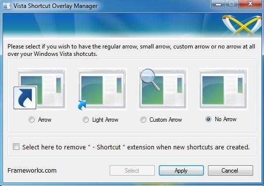shortcut remover