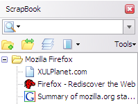how to use scrapbook firefox