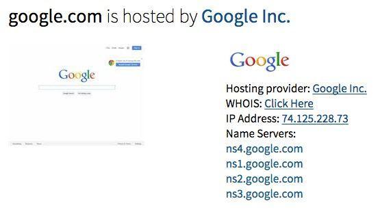 google hosting