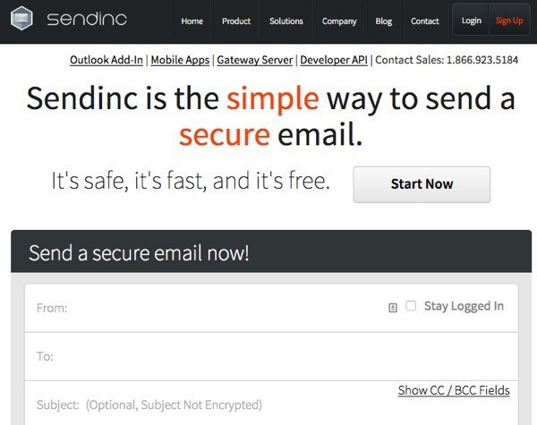 how to send secure encrypted email for free