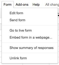how to make an online survey using google docs