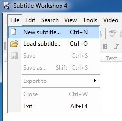 How to add your own subtitles to a video new subtitle ccuart Gallery