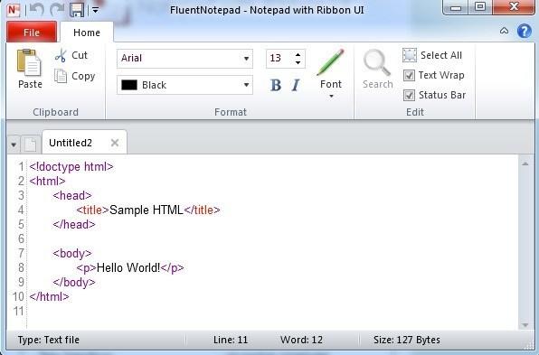 fluentnotepad