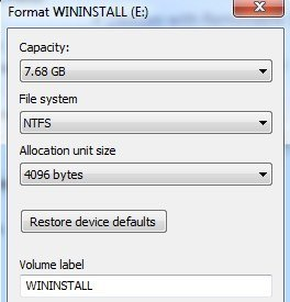 difference between fat and ntfs file system