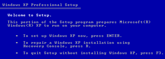 How To Fix Missing Or Corrupt Ntfs Sys Error In Windows Xp