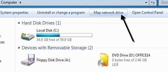 How to Map a Network Drive in Windows Mapped Drives Windows on