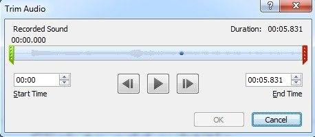 how to trim audio