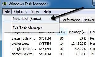 file new task