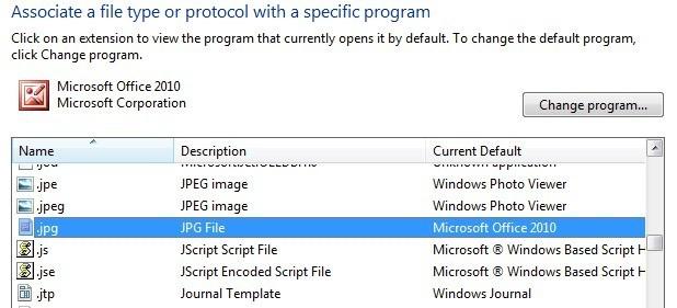 How to change default picture viewer in windows associate file type toneelgroepblik Choice Image