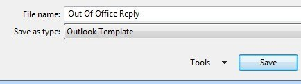 Write the perfect Out of Office reply in English