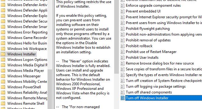 windows installer -Online Tech Tips