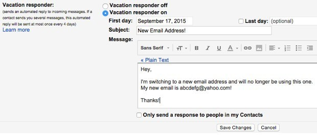 The Best Way To Switch To A New Email Address