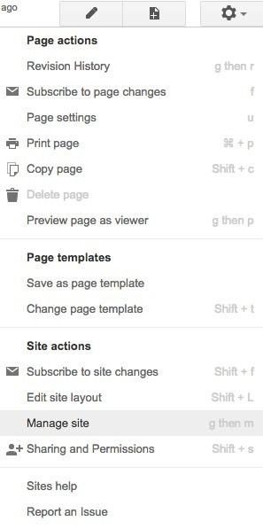 Create a Personal Website Quickly using Google Sites