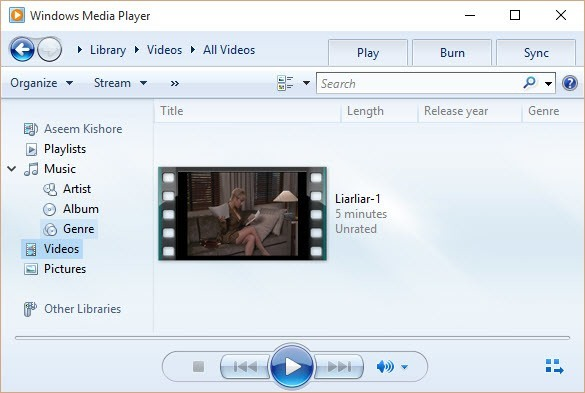 Can\'t Play AVI Files in Window Media Player?