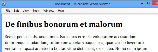 If You Dont Have Office Installed Can Try Using The Free Word Viewer Program From Microsoft In Addition To Allowing Open Documents