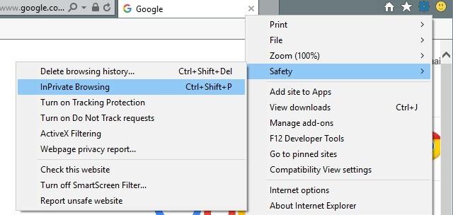 internet explorer no add ons windows 10