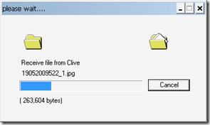 how to send files through bluetooth
