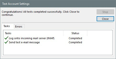 how to make my outgoing mail server smtp go online