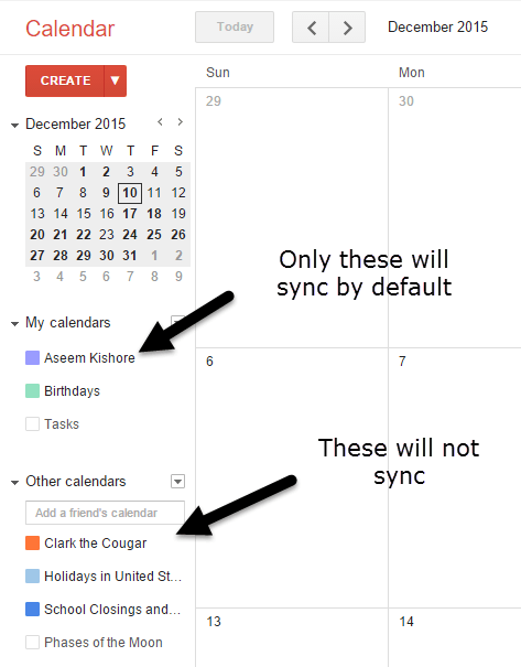 how to share google calendar on iphone ios not syncing all calendars to iphone 20326