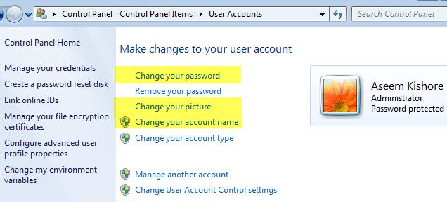 windows 7 change user
