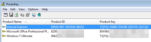 Windows 7 ultimate n product key
