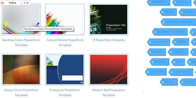 10 great websites for free powerpoint templates fftp wajeb Gallery