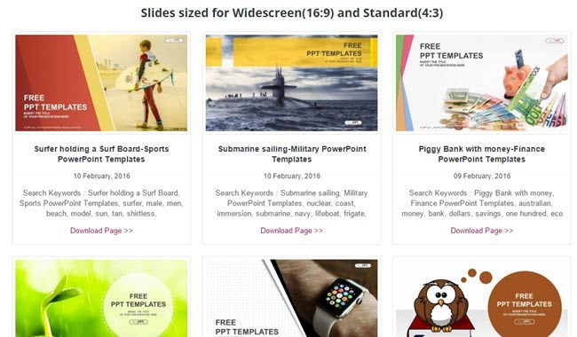 10 great websites for free powerpoint templates allppt free ppt templates toneelgroepblik Choice Image