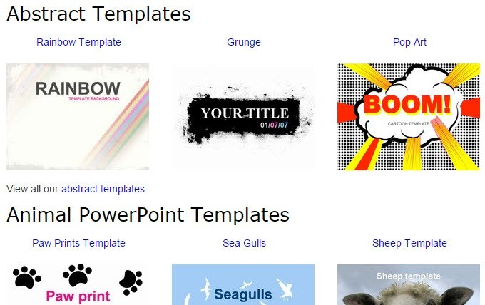 10 great websites for free powerpoint templates free powerpoint templates presentation magazine toneelgroepblik Images