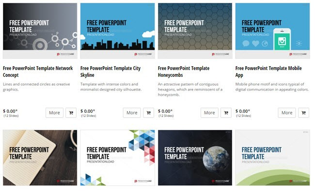 10 great websites for free powerpoint templates presentationload toneelgroepblik Choice Image