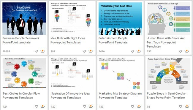 10 great websites for free powerpoint templates slidegeeks wajeb Image collections