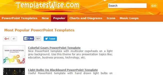10 great websites for free powerpoint templates templateswise has a large collection of templates made from photographs abstract graphics and clip art categories include business finance toneelgroepblik Images