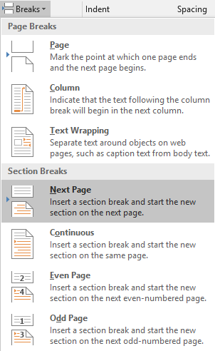 Turning Single Page To Landscape In Word For Mac