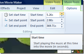 how to delete sound in windows movie maker