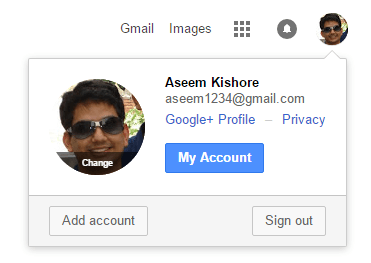 how to put a picture on your google account
