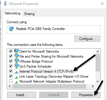 assigning a static ip