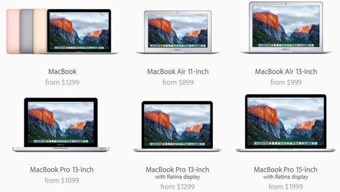 Macbook vs macbook air vs macbook pro with retina display ccuart Choice Image