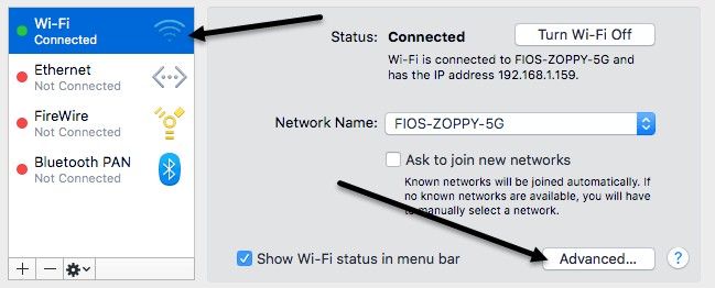 apple self assigned ip address