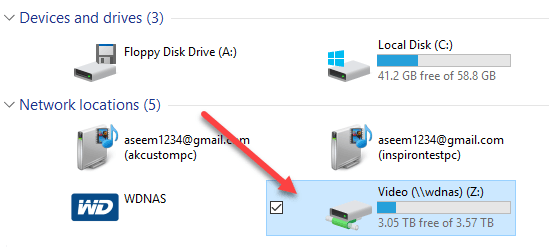 How to Add Network Folders to the Windows Search Index Mapped Drives Windows on