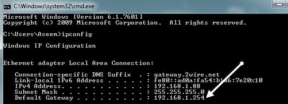 how to change local ip address on netgear router
