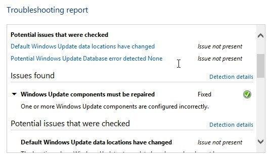 error detailed information
