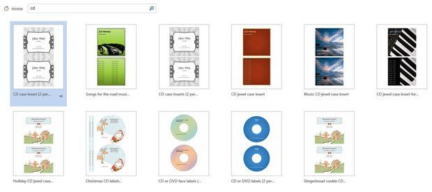 Create your own cd and dvd labels using free ms word templates word search templates saigontimesfo