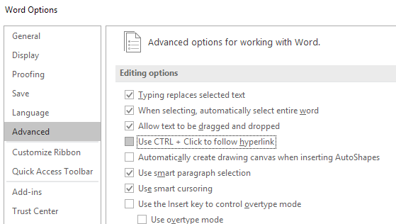 how to delete table of contents in word online