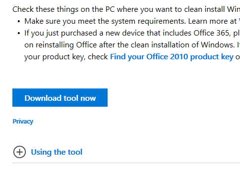 download tool now